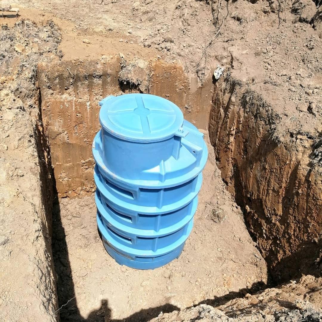 Studzienka odporna na mrozy i wody gruntowe